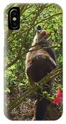 Kitty In The Roses IPhone Case