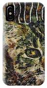 Kitty Vangoghed IPhone Case