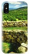 Kiva And View Pecos Ruins New Mexico IPhone Case