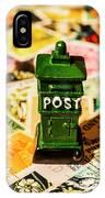 Kiwi Postage Scene IPhone Case