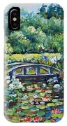 Klehm's Lily Pond II IPhone Case