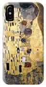 Klimt: The Kiss, 1907-08 IPhone Case