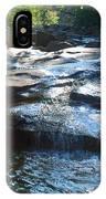 Knee Deep In Mountain Water IPhone Case
