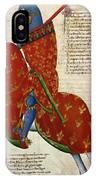 Knight, 14th Century IPhone Case