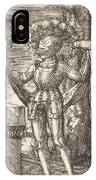 Knight In Armour With Bread And Wine IPhone Case