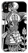 Knight Of Arthur, Preparing To Go Into Battle IPhone Case