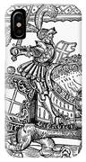 Knights: English, 1527 IPhone Case