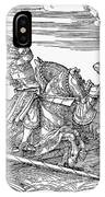 Knights: Jousting, 1517 IPhone Case