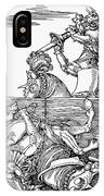 Knights: Tournament, 1517 IPhone Case