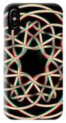 Knotplot 12 - Use Red-cyan 3d Glasses IPhone Case