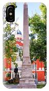 Knoxville Old Courthouse Grounds IPhone Case