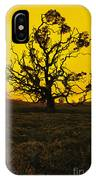 Koa Tree Silhouette IPhone Case