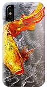 Koi Fish Aluminum Print, Unique Gift For Any Home Or Office. 'the Silver Koi'. IPhone Case
