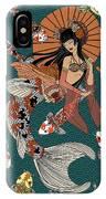 Koi Mermaid 2/4 IPhone Case
