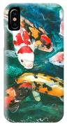 Koi V IPhone Case