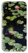 Koi With Lily Pads E IPhone Case