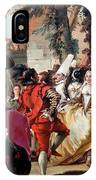 Komondor Art Canvas Print - The Carnival Dance IPhone Case