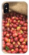 Kona Coffee Bean Harvest IPhone Case