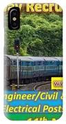 Konkan Railway Recruitment IPhone Case