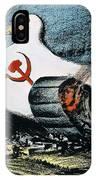 Korean War: Cartoon, 1950 IPhone Case
