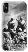 Korean War: Machine Gun IPhone Case