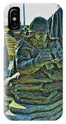 Korean War Memorial 2 IPhone Case