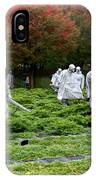 Korean War Memorial  IPhone Case