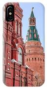 Kremlin Tower In Moscow IPhone Case