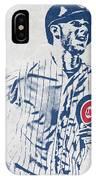 kris bryant CHICAGO CUBS PIXEL ART 2 IPhone X Case
