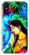 Krishna And Radha IPhone Case