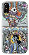 Krishna Matsya IPhone Case
