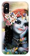 Krishna-sky Boy IPhone X Case