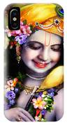 Krishna With Parrot IPhone X Case