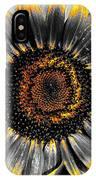 Krypton's Sun Flower Bwy IPhone Case