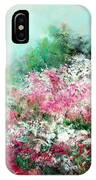 Kukenhof Rhododendrums IPhone Case