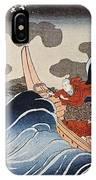 Kuniyoshi: Oban Print IPhone Case