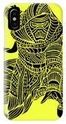 Kylo Ren - Star Wars Art - Yellow IPhone Case
