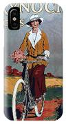 Kynoch Cycles - Bicycle - Vintage Advertising Poster IPhone Case