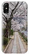 Kyoto In Bloom IPhone Case