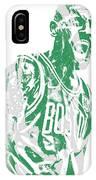 Kyrie Irving Boston Celtics Pixel Art 42 IPhone X Case