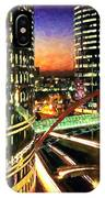 La Defense By Night - Paris IPhone Case