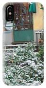 La Neve A Casa IPhone Case