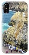La Quebrada IPhone Case