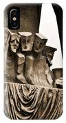 La Sagrada Familia Sculpture IPhone Case