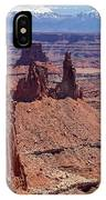 La Sal And The Canyon IPhone Case