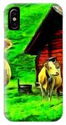 La Vaca IPhone Case