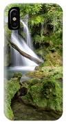 La Vaioaga Waterfall IPhone Case