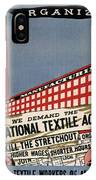 Labor Poster, 1935 IPhone Case