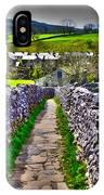 Labyrinth Of Grassington IPhone Case