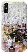 Lacey Curtain And Pastry IPhone Case